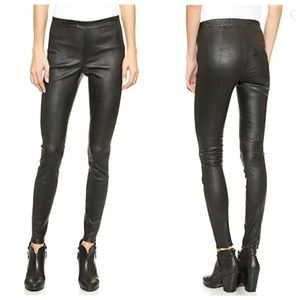 Nordstrom BB Dakota Alanna Leather Leggings